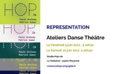Ateliers Danse Théâtre – Représentation – 9 et 10/06/2017