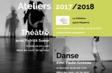 Ateliers – Théâtre – Danse – 2017/2018