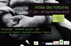 Allée des histoires – 1/06/2018 – Vernissage